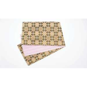 オリジナル袋帯 翔玉 割り付け紋菱形 WH01 パープル