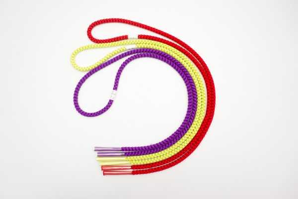 飾り紐(大)赤・紫・緑