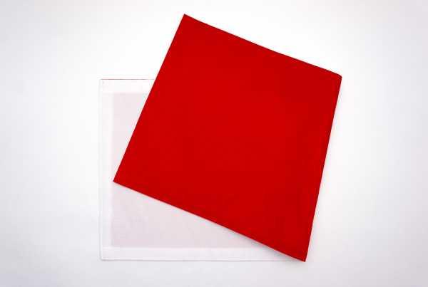 布扇 赤×白
