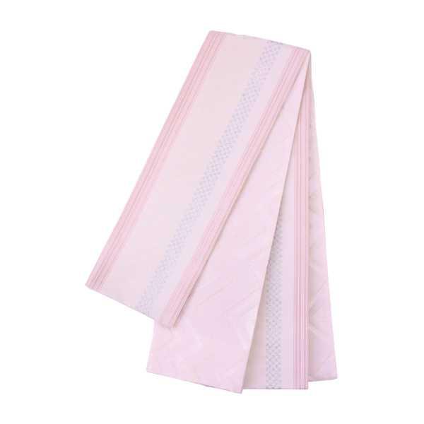 オリジナル細帯 市松献上 ISO-02:ピンク