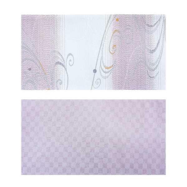 2019夏新作 夏用細帯 流水柄 紫