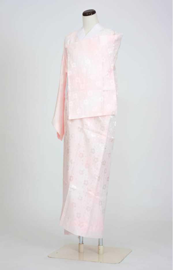 定番長襦袢(冬)色物 Mサイズ ピンク